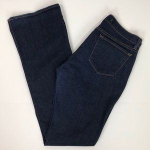 J Brand Bailey Dark Blue Boot Cut Jeans